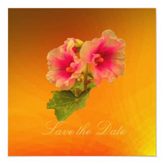 Floral Fantasia Save-the-Date Card