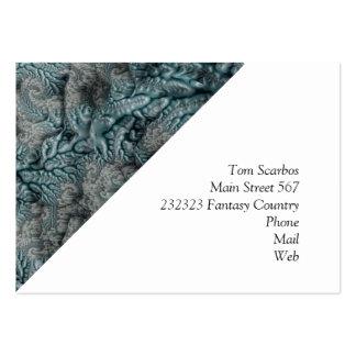 floral Fantasy 07 Large Business Cards (Pack Of 100)