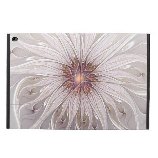 Floral Fantasy, Abstract Modern Pastel Flower Powis iPad Air 2 Case