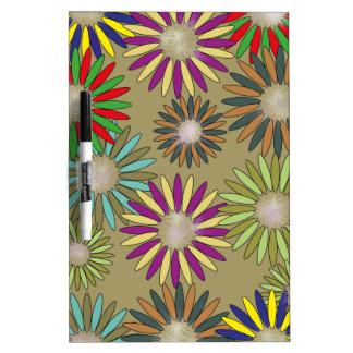 Floral Fantasy Dry-Erase Board