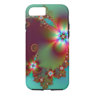 Floral Fantasy Fractal iPhone 7 Case
