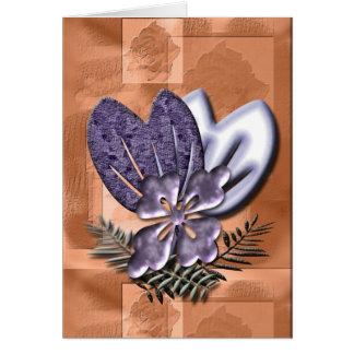 Floral Fantasy Greeting Card