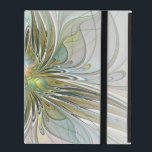 """Floral Fantasy Modern Fractal Art Flower With Gold iPad Case<br><div class=""""desc"""">Abstract blossom,  modern and decorative. For your IPad,  your phone,  your wall,  and for a lot of other things.</div>"""