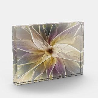 Floral Fantasy Pattern Abstract Fractal Art Acrylic Award