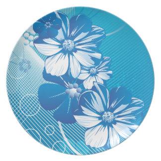 Floral Fashion 10 Plate