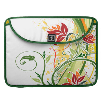 Floral Fashion 1 Mac Book Sleeve Sleeve For MacBook Pro