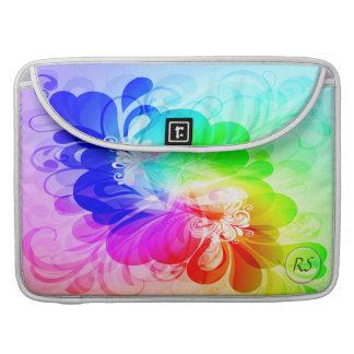 Floral Fashion 5 Mac Book Sleeve MacBook Pro Sleeve