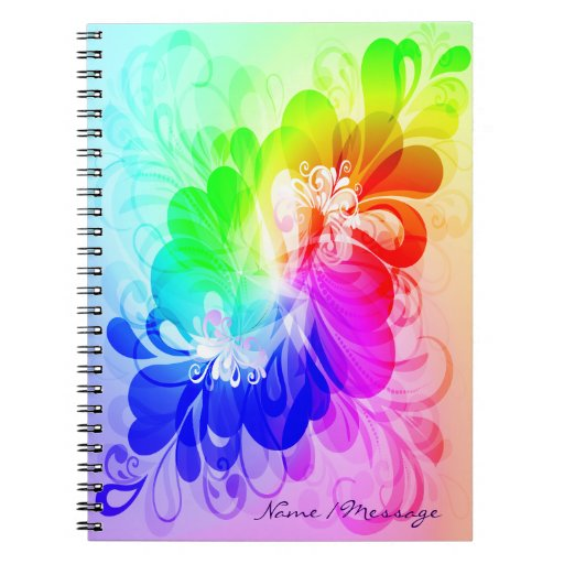 Floral Fashion 5 Notebook