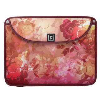 Floral Fashion 6 Mac Book Sleeve Sleeve For MacBook Pro