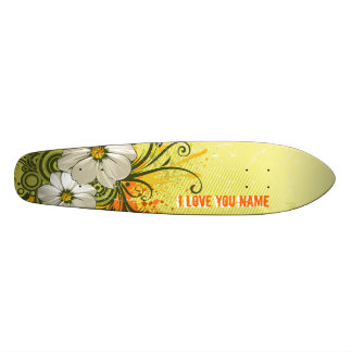 Floral Fashion 9 Skateboard