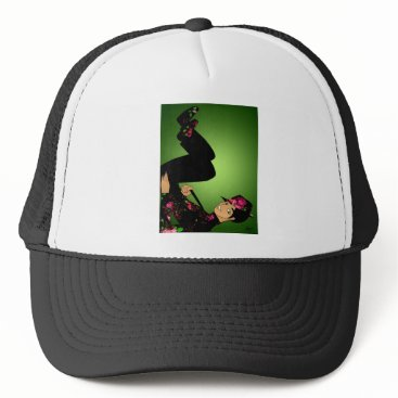 jasmineflynn Floral Fashion Trucker Hat