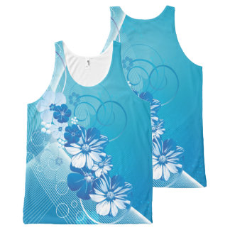 Floral Fasion 10 All-Over-Print Tank Top