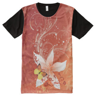 Floral Fasion 11 Options All-Over Print T-shirt