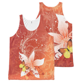 Floral Fasion 11 Options All-Over-Print Tank Top