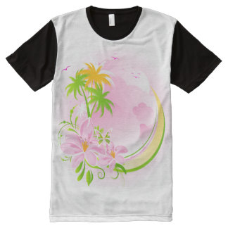 Floral Fasion 12 All-Over Print T-shirt
