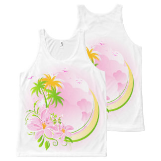 Floral Fasion 12 All-Over-Print Tank Top