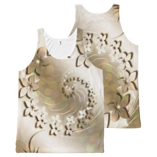 Floral Fasion 14 All-Over-Print Tank Top