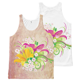 Floral Fasion 15 Options All-Over-Print Tank Top