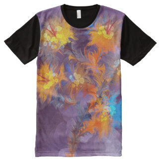 Floral Fasion 16 All-Over Print T-shirt