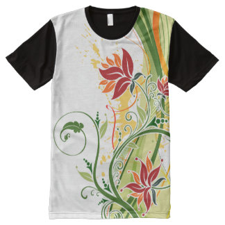 Floral Fasion 1 All-Over Print Shirt