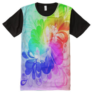 Floral Fasion 5 All-Over Print T-shirt