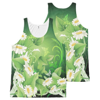 Floral Fasion 7 All-Over-Print Tank Top