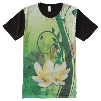 Floral Fasion 8 Image Options All-Over Print Shirt