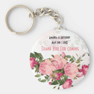 Floral favours-thank you gift keychain