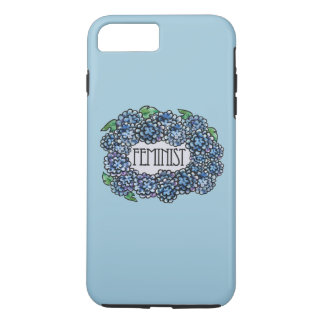 Floral Feminist iPhone 8 Plus/7 Plus Case