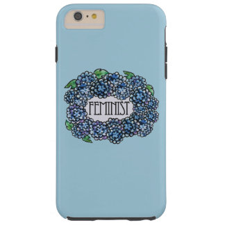Floral Feminist Tough iPhone 6 Plus Case