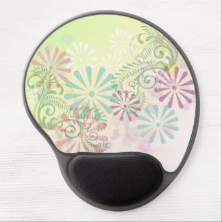 Floral Ferns Mouse Pad Gel Mouse Pad