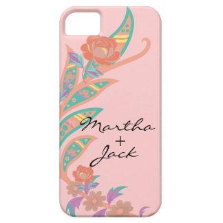 Floral festivo iPhone 5 funda