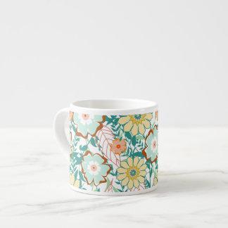 Floral Feud Espresso Cup