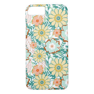 Floral Feud iPhone 8/7 Case