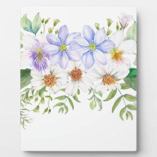 Floral Field Bouquet Plaque
