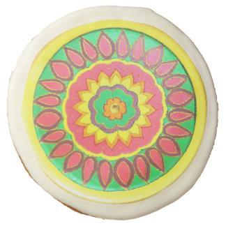 Floral Fiesta-1 - Designer cookies - 12 pcs