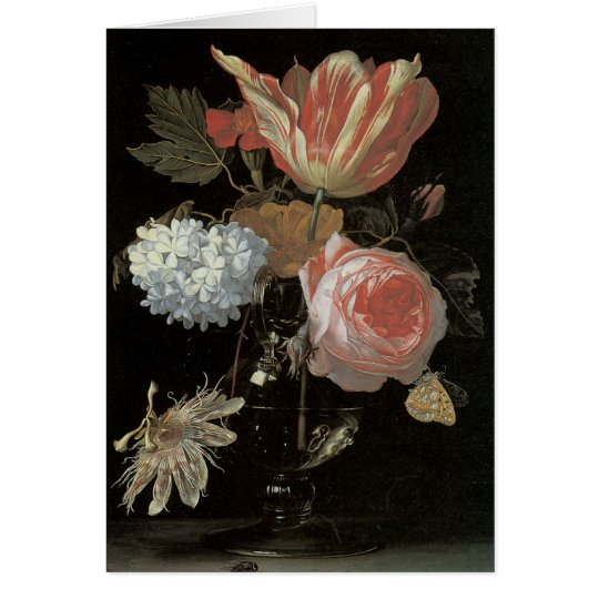 Floral Fine Art Blank Note Card
