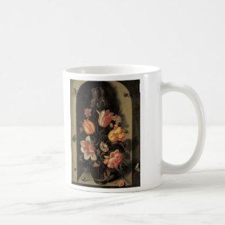 Floral Fine Art Roses Tulips Butterflies Coffee Mug