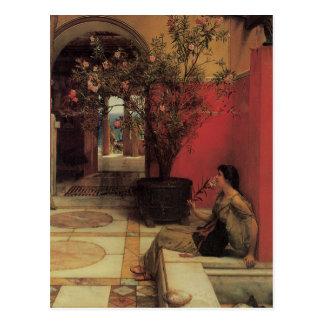 Floral Fine Art with Oleander Postcard