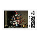 Floral Fine Art with Roses Lillies Postage