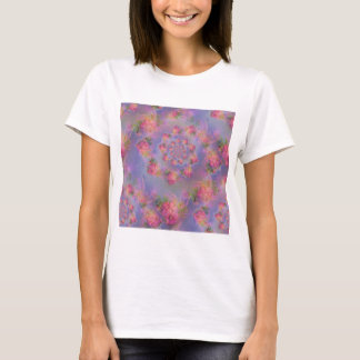 Floral Fireworks Damask T-Shirt