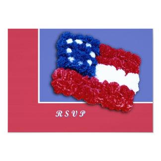 Floral Flag Card