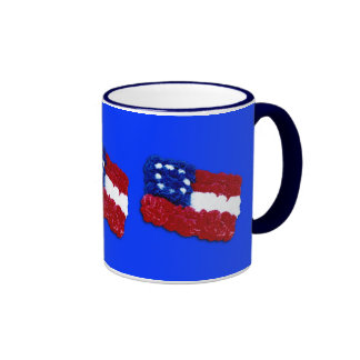 Floral Flag Coffee Mug