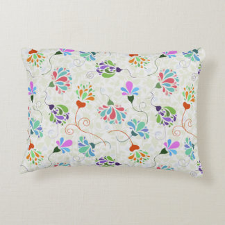Floral Flamboyance Accent Pillow