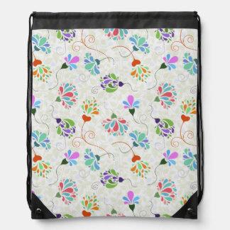 Floral Flamboyance Backpacks