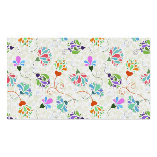 Floral Flamboyance Business Card