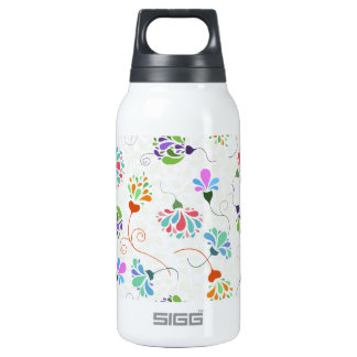 Floral Flamboyance Insulated Water Bottle