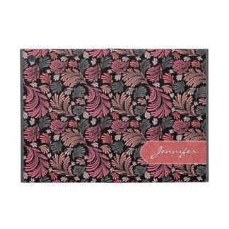 Floral Flourish Pattern Folio Case For iPad Mini