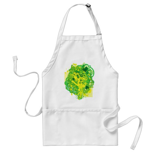 Floral_Flow Adult Apron