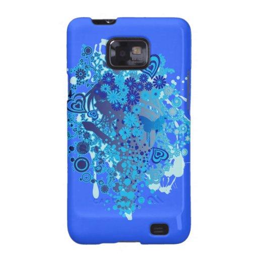 Floral_Flow Samsung Galaxy S2 Carcasa